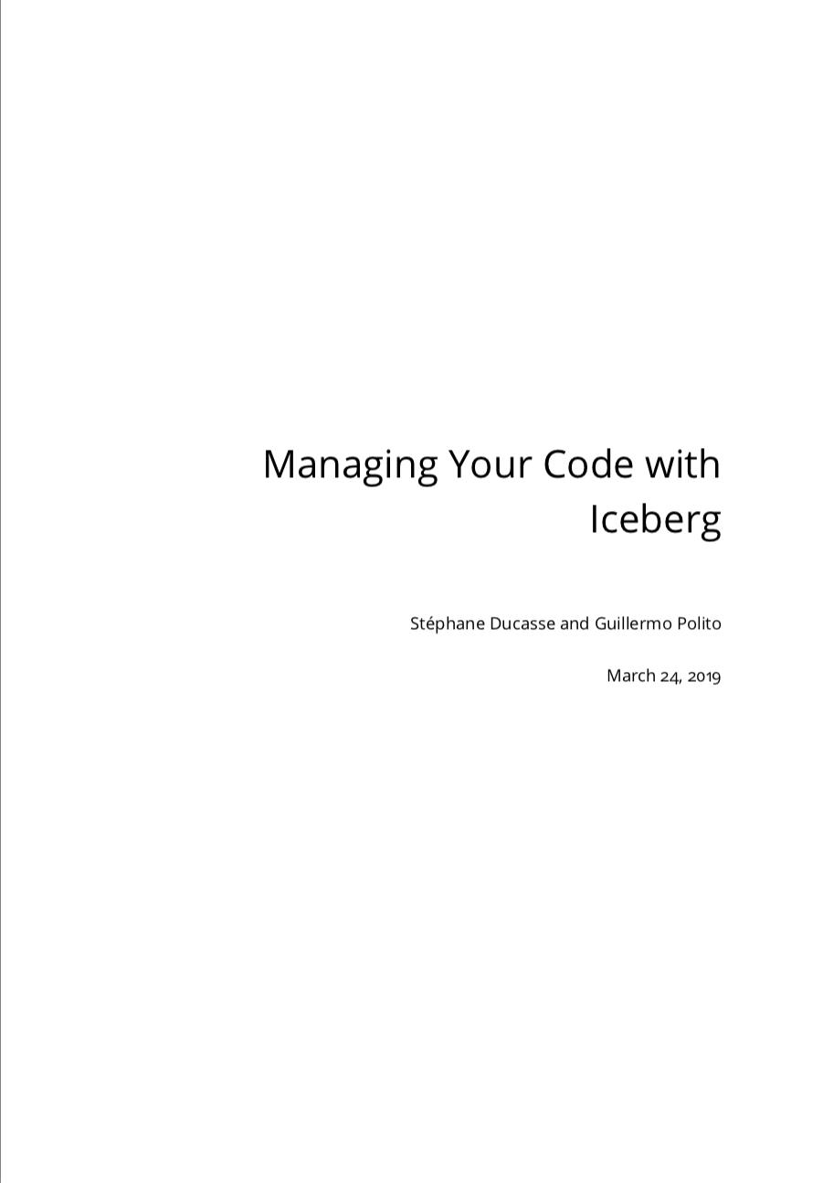 Manage your code with Git and Iceberg